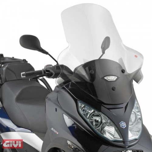 Givi Windschild D5601ST klar Piaggio Mp3 Touring 300 - 400 Bj.11