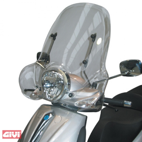 Givi Windschild 103A klar Piaggio Beverly 500 Bj.03-07