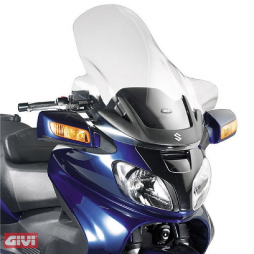 Givi Windschild D263ST klar Suzuki AN 650 Burgman Executive Bj.05-12