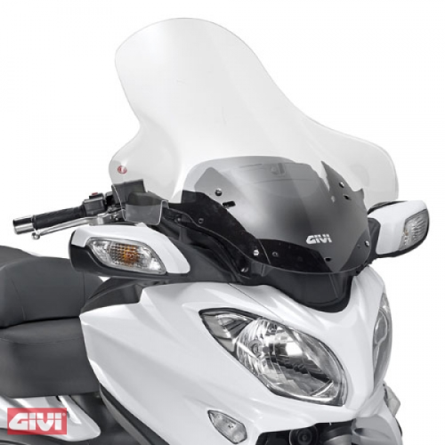Givi Windschild D3104ST klar Suzuki Burgman 650 / 650 Executive Bj.13-14