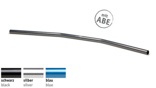 LSL Lenker 22 mm, Drag Bar Wide, Typ AD2, Aluminium, 122AD02