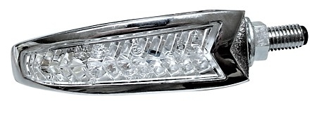 LED Blinker/Positionsleuchten Einheit DAKOTA, Chrom
