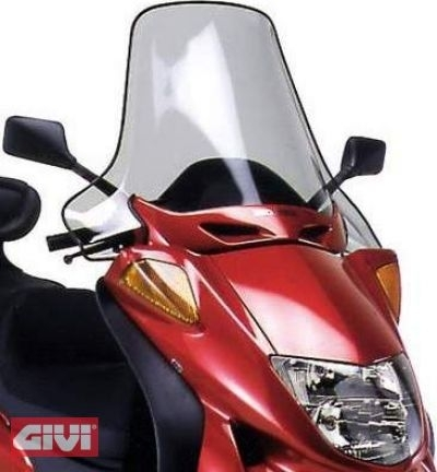 Givi Windschild D199ST klar Honda Pantheon 125-150 Bj.97-02