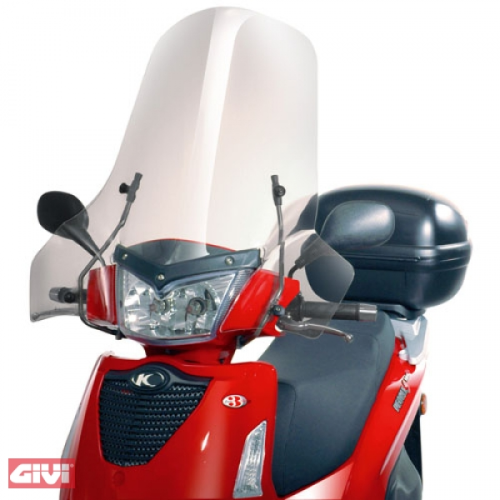Givi Windschild 137A klar Kymco People S 50-125-200 Bj.05-14