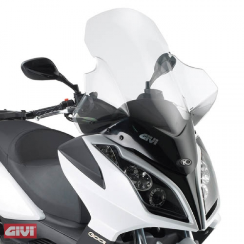 Givi Windschild D294ST klar Kymco Downtown 125i-200i-300i 09-14