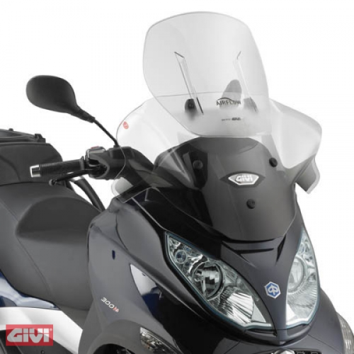 Givi Windschild AF5601 klar Piaggio Mp3 Sport 500 Bj.12-13