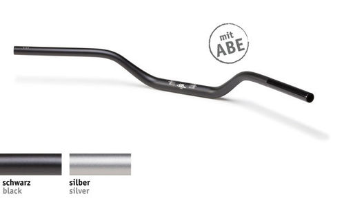 LSL Lenker X-Bar 28,6 mm, Naked Bike, Typ X02, Aluminium, 128AX02