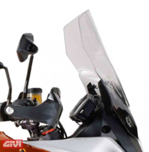 Givi Windschild D7703ST klar KTM 1050 Adventure 15-16